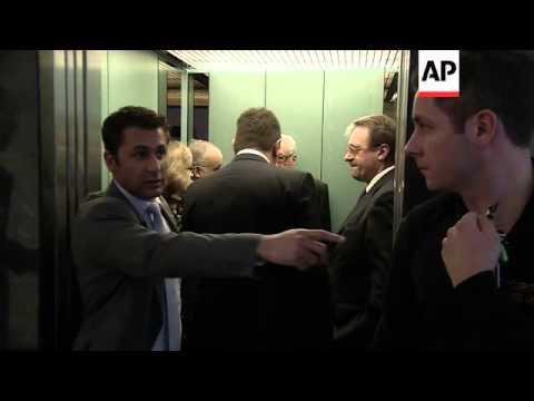 Brahimi meets senior Russian, US diplomats for Syria talks
