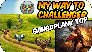 Mit Toxic... Gangplank Top | My Way to Challenger (Ger)