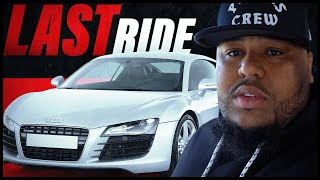 OMI IN A HELLCAT DRIVES HIS AUDI R8 FOR THE LAST TIME