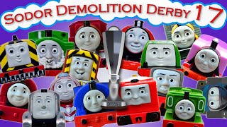 Sodor Demolition Derby 17 | Thomas and Friends Trackmaster | Strongest Engine