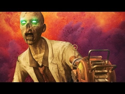 "ZOMBIES ""WORLD RECORD"" (Black Ops 2 Zombies w/ Syndicate and Mr Sark)"