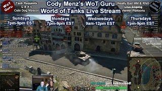 World of Tanks Live Stream [WoT Guru] 09/06/2017 [248 Tanks] [9,494 Personal Rating] [English - NA]