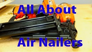 All About Air Nailers for Woodworking - Woodworking for Beginners #16