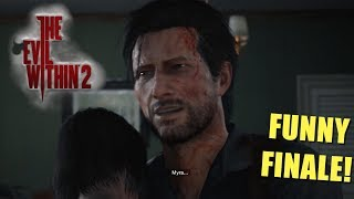 "FINALE: I FOUND LILY...BUT THERE'S A CATCH! ( FUNNY ""THE EVIL WITHIN 2"" GAMEPLAY)"
