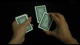تعلم العاب الخفة # 221 ( من اقدم واجمل حيل الورق ) free magic trick