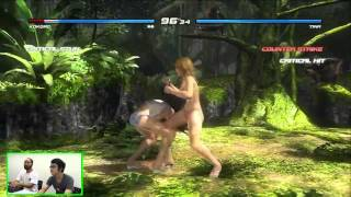 Dead or Alive 5 Presents A Girl Fight XXX Production: Bikini Beef Battles #2 Kokoro vs Tina
