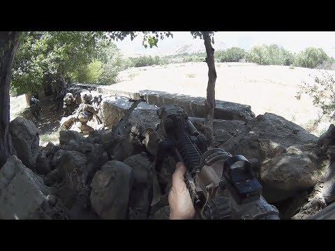 Война в Афганистане 2018 | Спецназ США в действии во время боя с ИГИЛ & Авиаудары коалиции