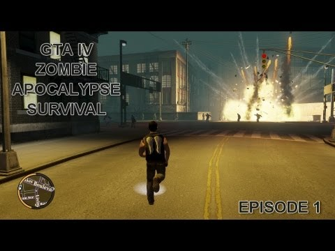 GTA IV ZOMBIE APOCALYPSE SURVIVAL EP 1 - UNTIL GTA 5