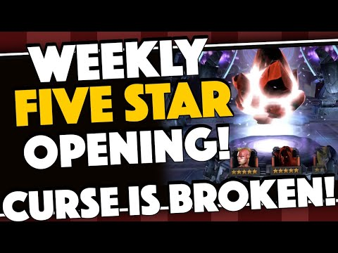 Weekly Five Star Crystal Opening: The CURSE of 2018 is OVER!