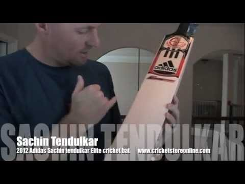 2012 Adidas sachin tendulkar cricket bat Elite & Club from www.cricketstoreonline.com