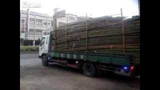Descarregando o caminhão sem fazer força
