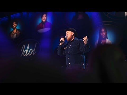 Magnus Schönberg sjunger Ramlar i Idol 2017 - Idol Sverige (TV4)