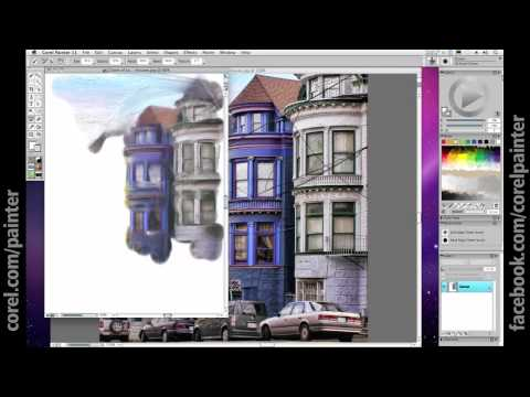 Corel Painter Tutorial: Painting from a Photograph