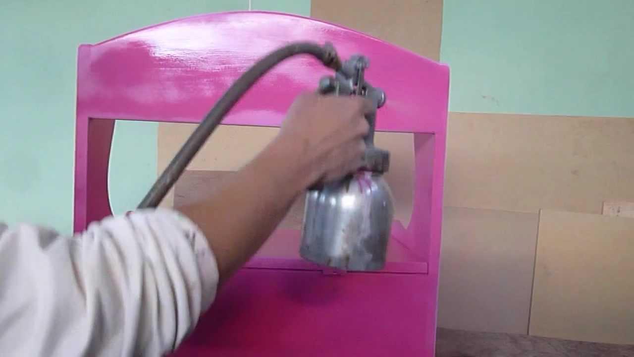 Pintado de mueble banquita baul madera youtube - Como decorar un baul de madera ...