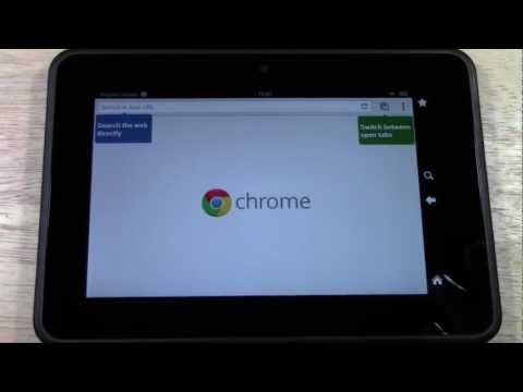 Kindle Fire HD: How to Download Google Chrome (Part 2) from Computer