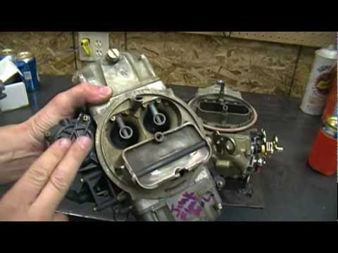 Some basic Holley 4 Barrel carburetor identification tips