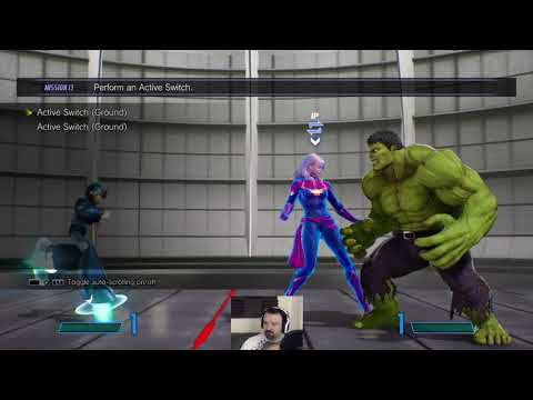 Marvel vs. Capcom Infinite Tutorial pt1 - Some Old, Plus New, Mechanics!