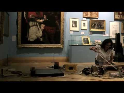 Sitar and radio sound art performance - 'An ode to All India Radio'' by Poulomi Desai