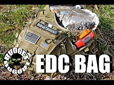 EDC Bag -- The Everyday Carry Survival Kit