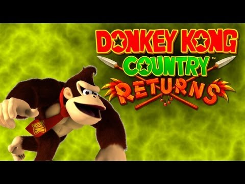 Donkey Kong Country Returns #2 - Macacos na Praia!!!