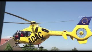 Crazy Helikopter ADAC in Berlin Blankenburg extrem hautnah