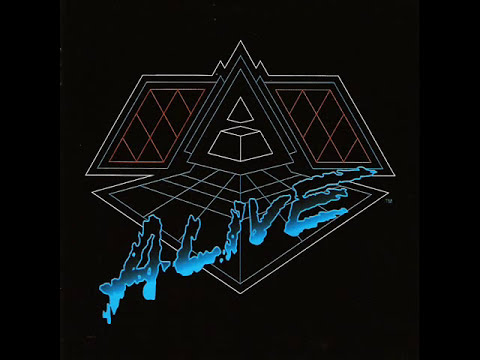 Daft Punk - Aerodynamic Beats / Forget About The World - Alive 2007