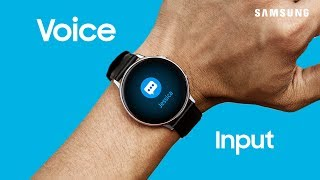 01. Change the Voice Input Language on Your Watch | Samsung US
