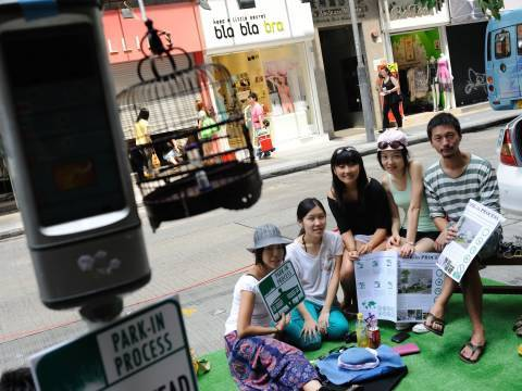 Putting the 'park' into parking (International Park(ing) Day)