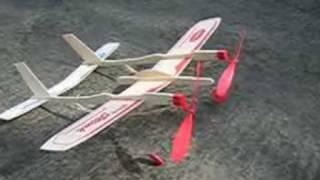 2 motorlu lastik serbest model uçak yapımı