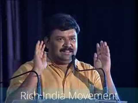 Gopinath Motivational Speech At Rich India video