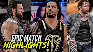WWE 2K16 Battleground 2016 Reigns vs. Rollins vs. Ambrose | Epic Match Highlights!