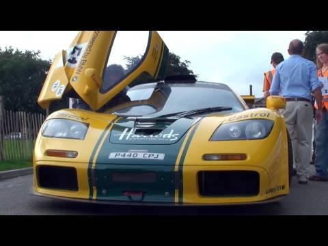 McLaren F1 GTR (Harrods Livery) - Driving and Interior Views