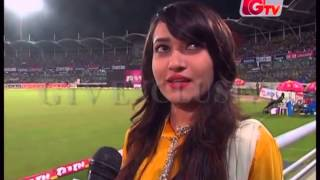 Download Bangladeshi Model Happy Exclusive Interview on BAN VS IND 2nd OID 3Gp Mp4