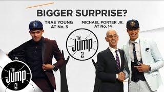 2018 NBA draft recap: Best trade, biggest surprise, best outfit & more | The Jump | ESPN