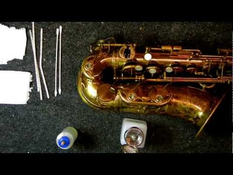 Saxophone Repair Topic: Changing the Oil