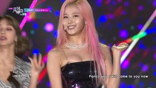TWICE(트와이스) - FANCY [Music Bank | Lyrics]
