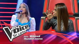 Shelinda Jansen - Mal Madahasa  Blind Auditions | The Voice Sri Lanka