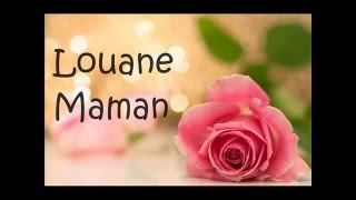 Louane - Maman paroles