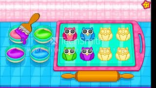 COOK OWL COOKIES FOR KIDS