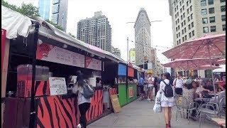 New York City Street Food   Broadway Bites 2018