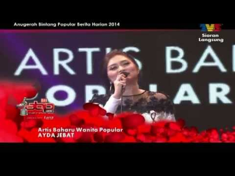 [ABPBH2014]  Ayda Jebat - Artis Baharu Wanita Popular