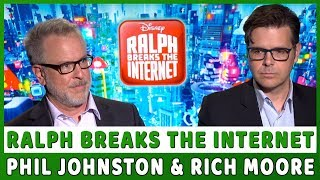 RALPH BREAKS THE INTERNET | Phil Johnston & Rich Moore Talk About Their Experience Making The Movie