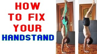 How to fix your Handstand I
