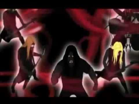 Dethklok - Bloodrocuted (Music Video) with lyrics