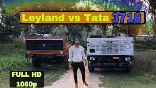 Tata cowl vs leyland cowl CHASIS 3718