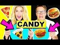 Lagu Making Food out of CANDY! Gummy Vs Real