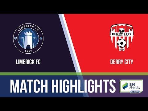 HIGHLIGHTS: Limerick 0-3 Derry City