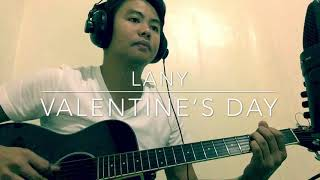 VALENTINE'S DAY by LANY (ACOUSTIC COVER)