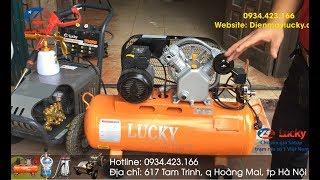 Bộ thiết bị rửa xe ô tô dùng cho cửa tiệm - garage - trạm rửa chuyên nghiệp