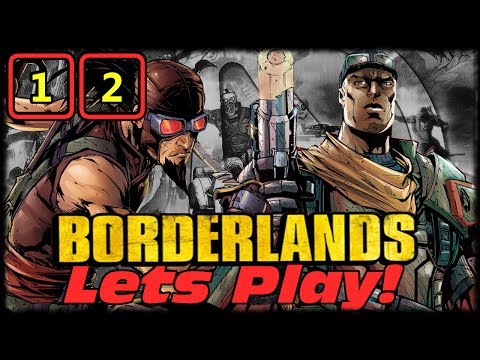 Borderlands Goty Fighting A Giant Hairy Pussy! Lets Play W Morninafterkill & Gothalion Ep 12 video